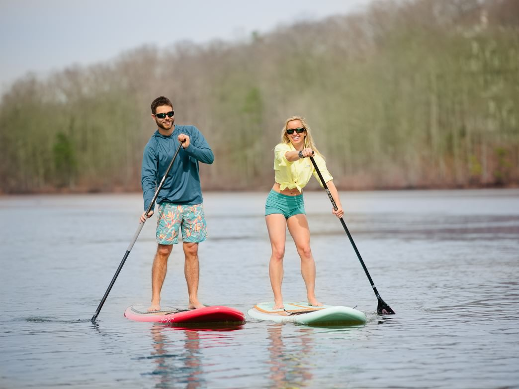 SUP on the Chattahoochee with your date.