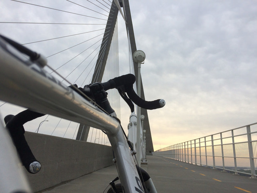 There was some public opposition to the bike/pedestrian lane on the Ravenel Bridge, which has become incredibly popular.