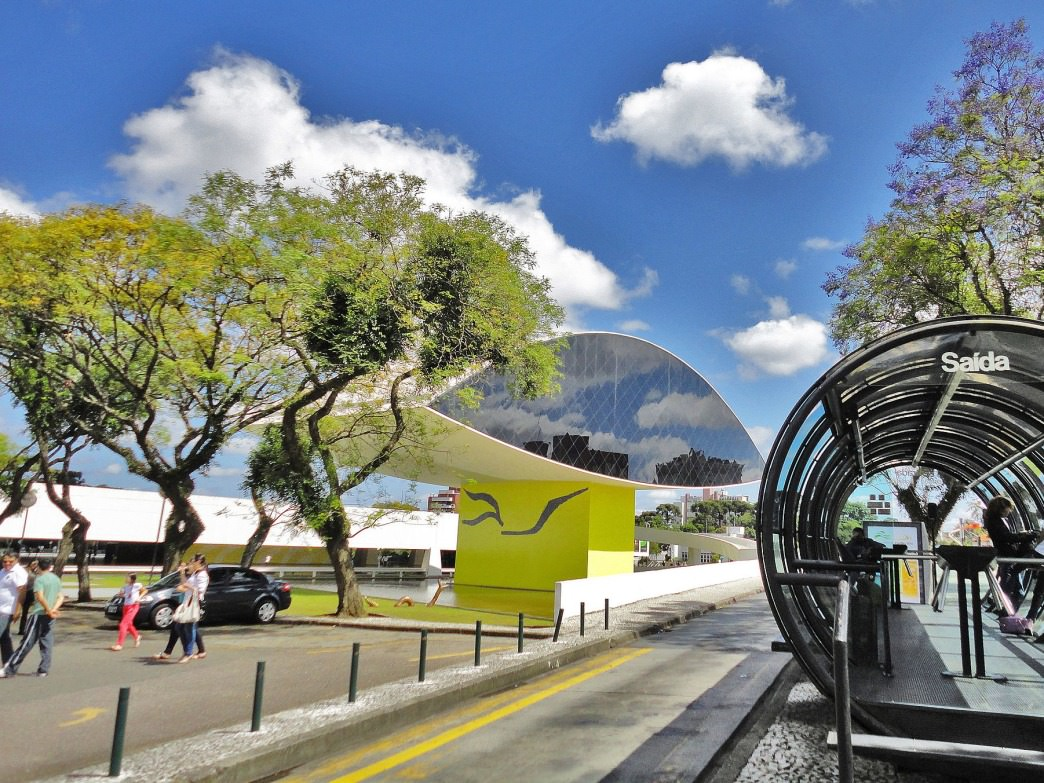 Curitiba's public transit system is one of the best in the world.