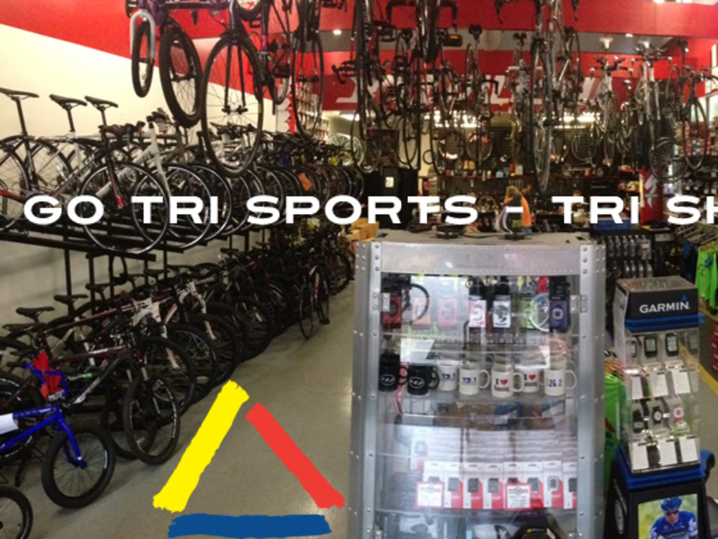 Go Tri Sports has all of your triathlon needs