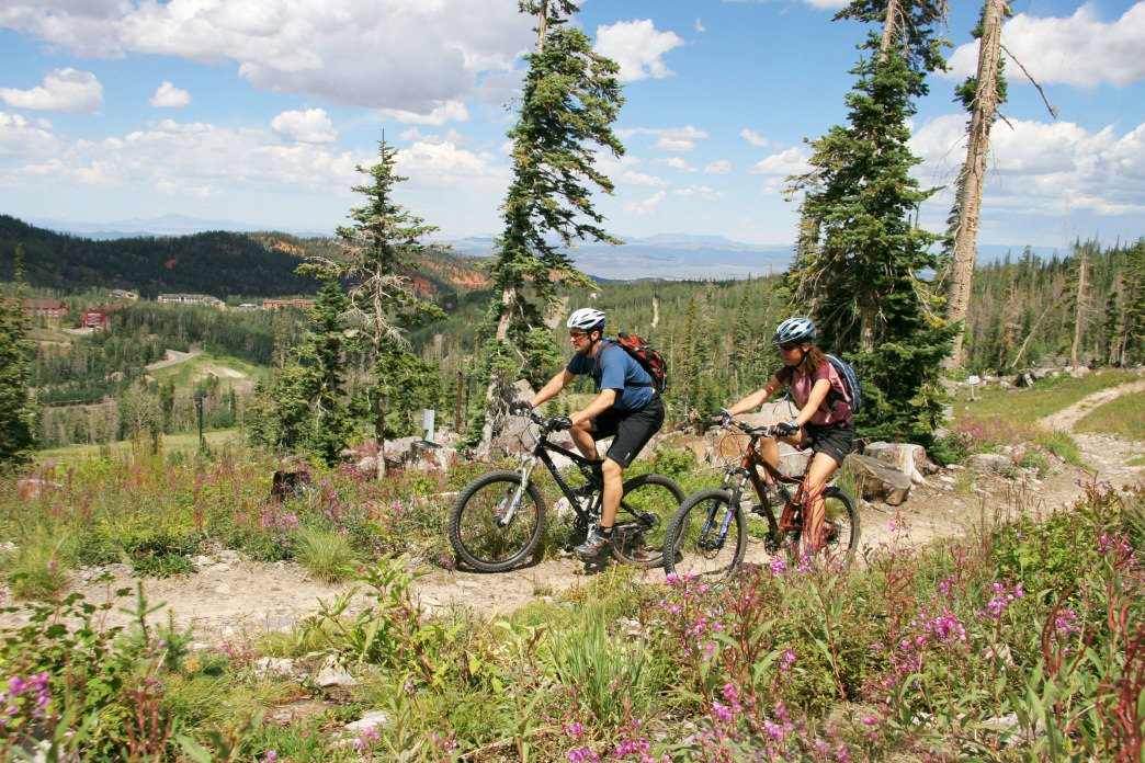 Brian Head boasts more than 200 miles of singletrack to explore.