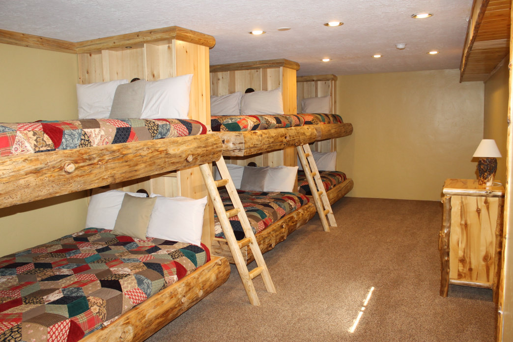 Stay at Timber Moose Lodge if you are planning on traveling in a group.