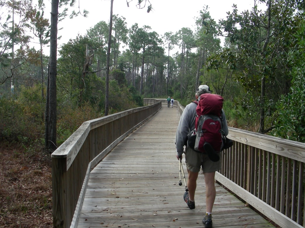 The Hugh Branyon Backcountry Trail in Orange Beach features more than 15 miles of paved multi-use trails.
