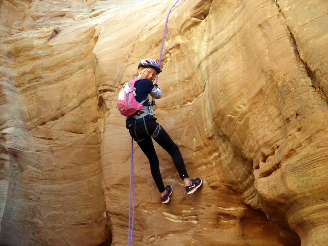 A guide can help you discover the best places for canyoneering.