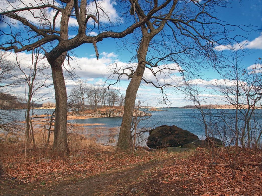 Hunter Island Marine Sanctuary is located at Pelham Bay Park