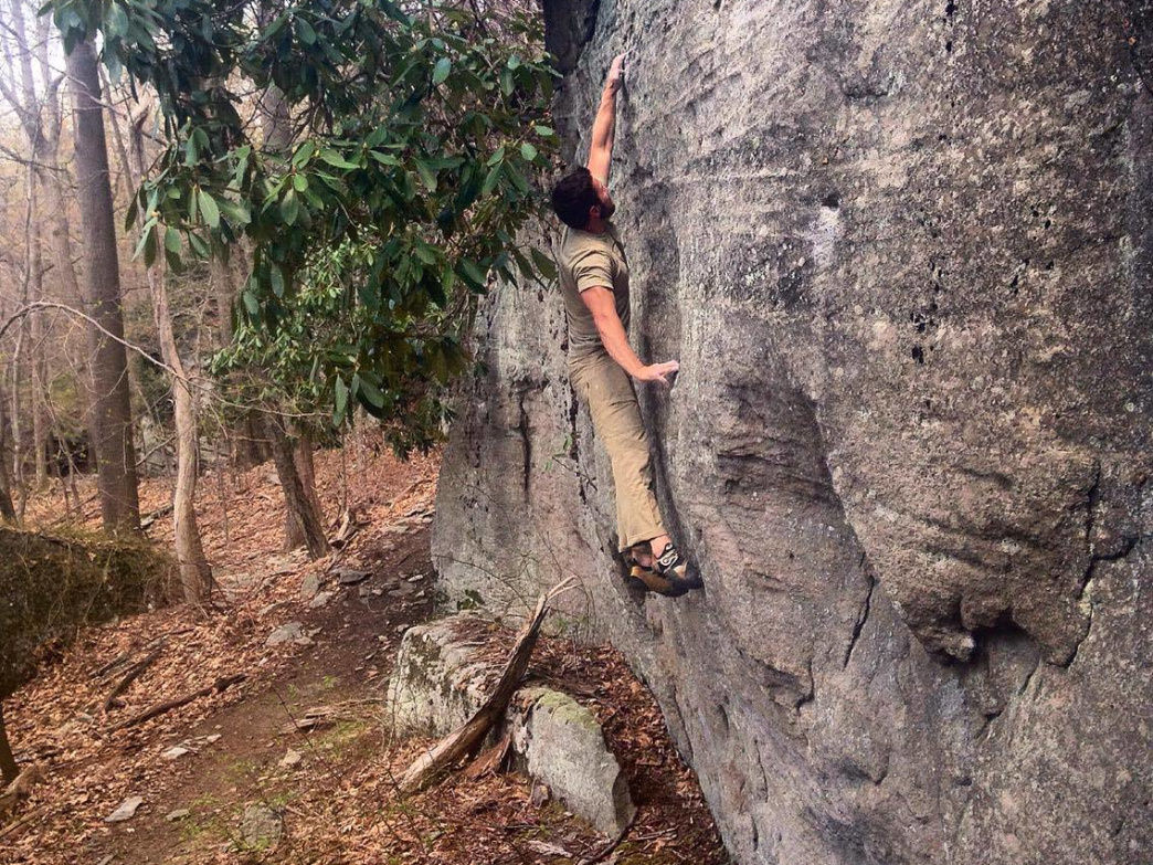 West Virginia has several wonderful climbing areas.