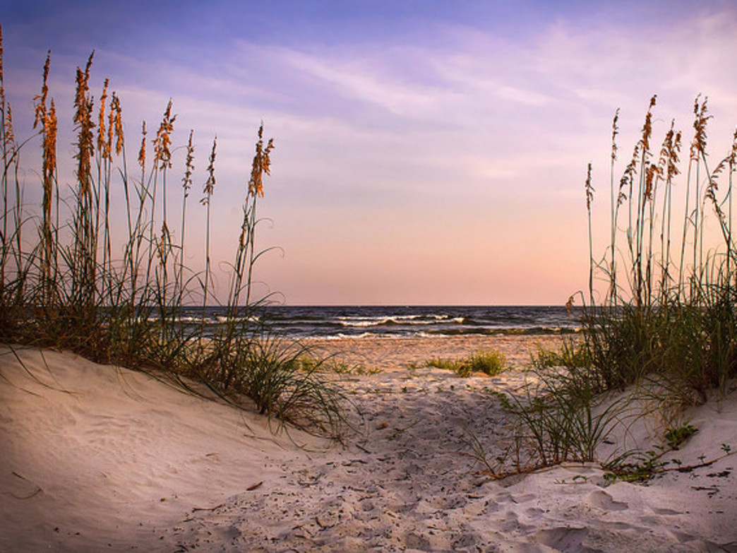 Camping on Little Tybee Island requires work, but it can certainly be rewarding.