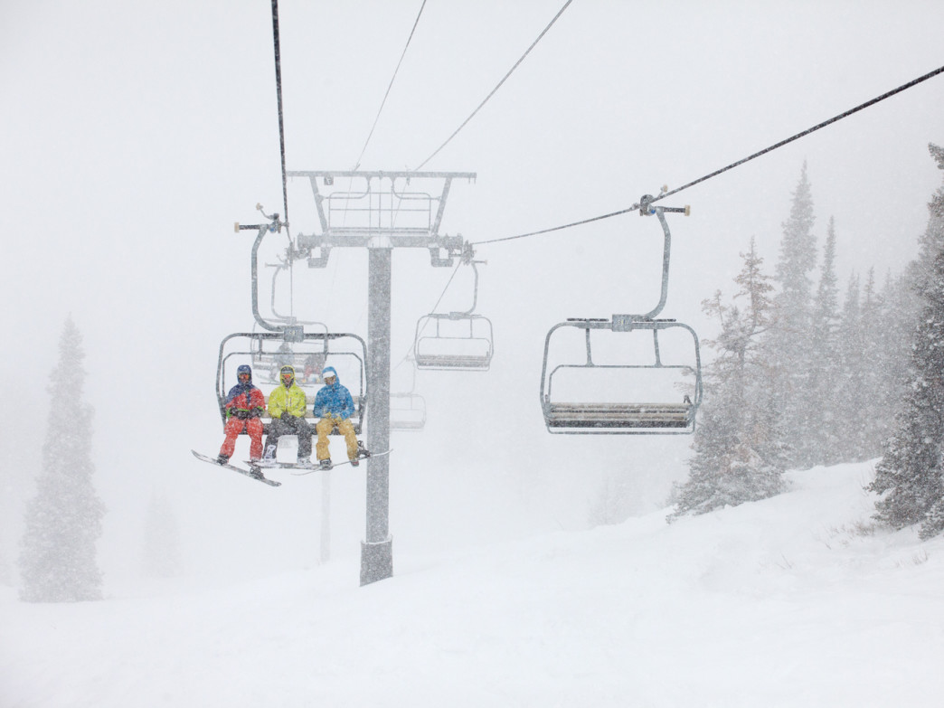 Powder Mountain lift