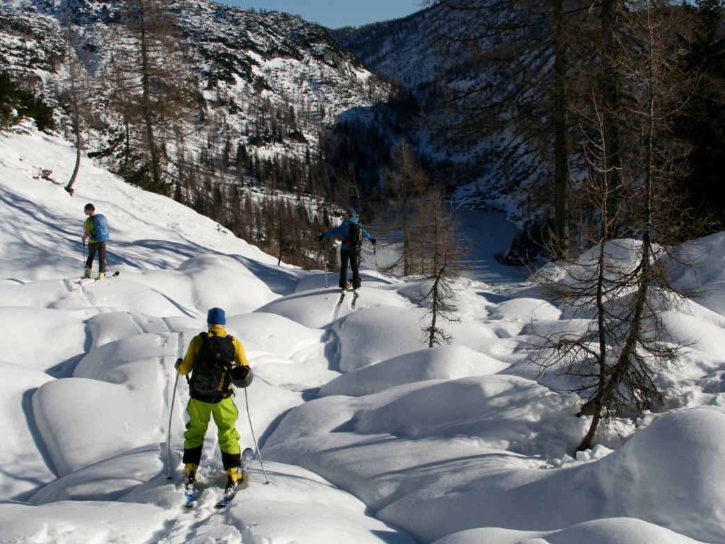 Splitboarding opens up a whole new world of outdoor exploration.
