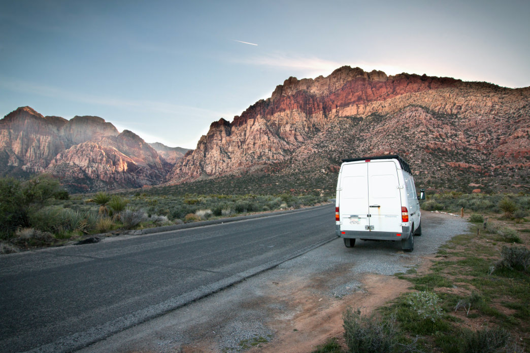 Living the van life allows you to see things you might not normally.
