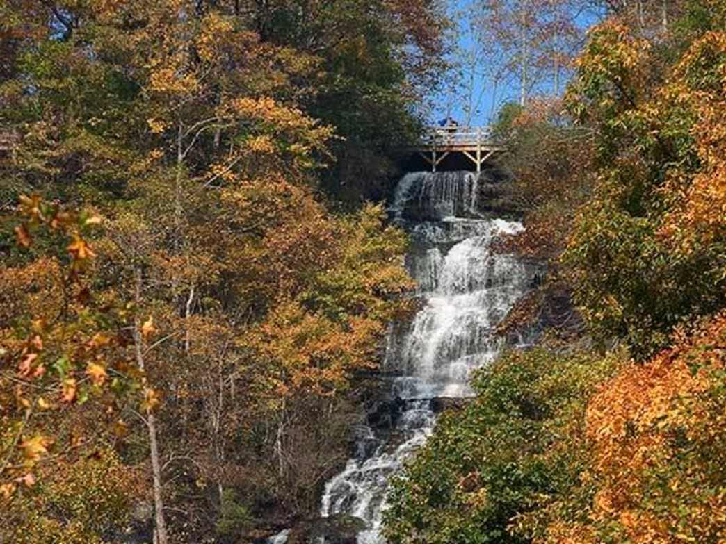 Amicalola Falls is the tallest waterfall east of the Mississippi.