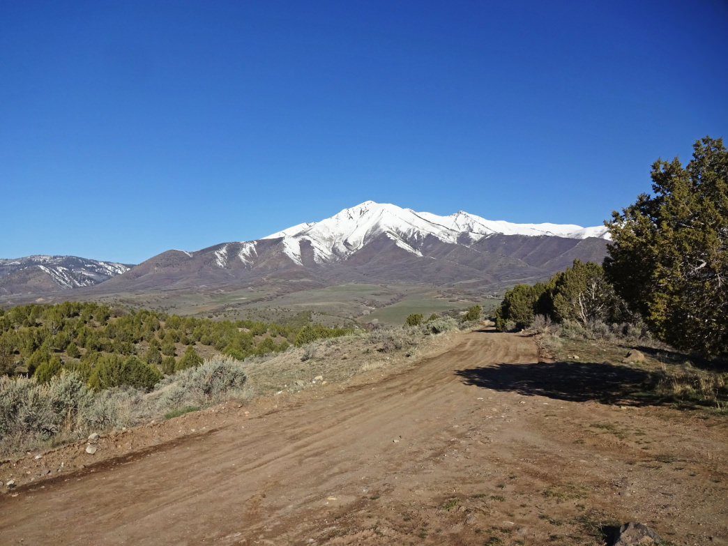 A hike to the top of Santaquin Peak is a rugged but popular outing in the Utah Valley.
