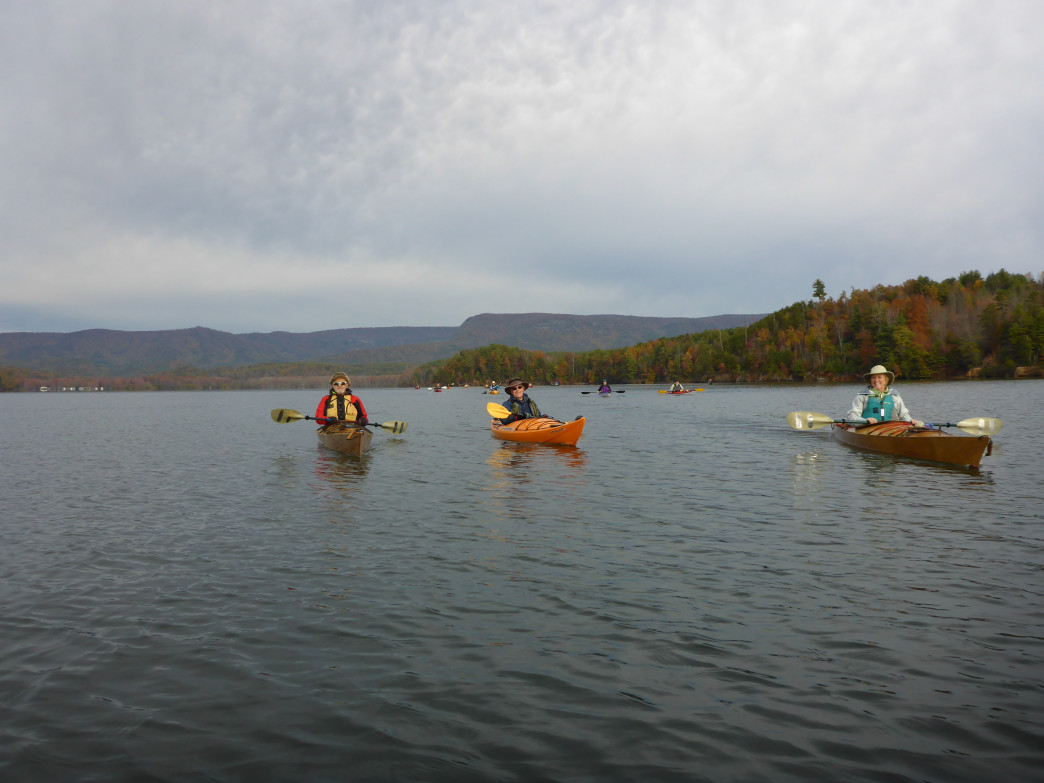 Framed by mountains, ringed by forest, paddling on Lake James is fantastic in spring, summer, and fall.