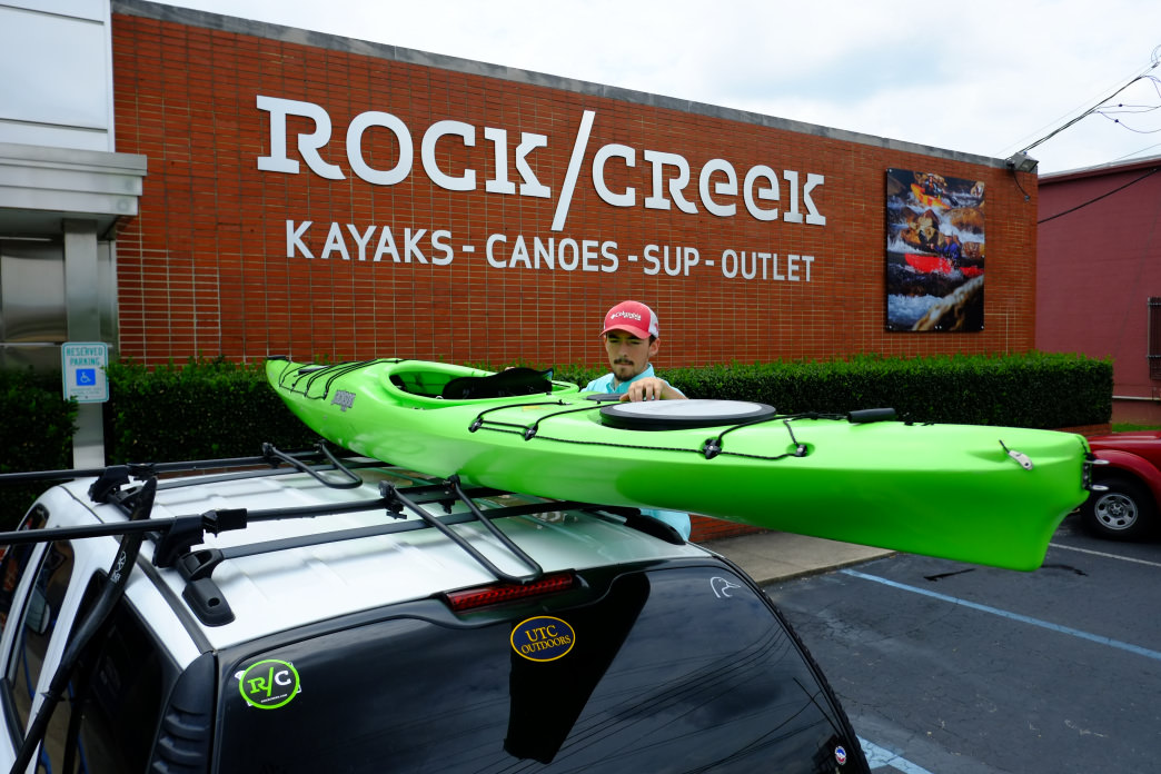 Chattanooga outfitter Rock/Creek equips many a local paddler. Mark McKnight