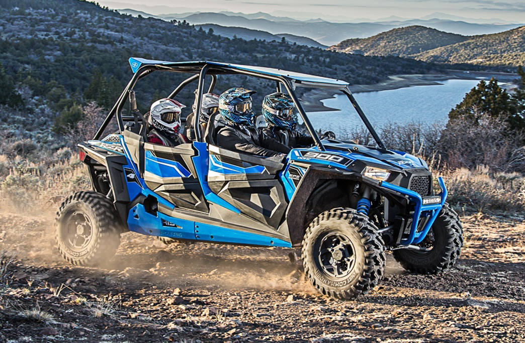 There are endless trails to explore when ATVing in Heber Valley.
