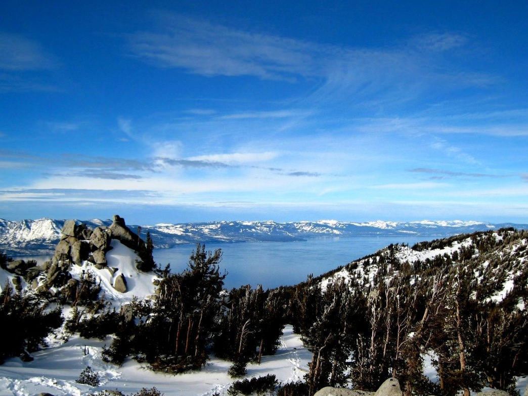 Views of Lake Tahoe from Heavenly Ski Resort are unrivaled across the region.