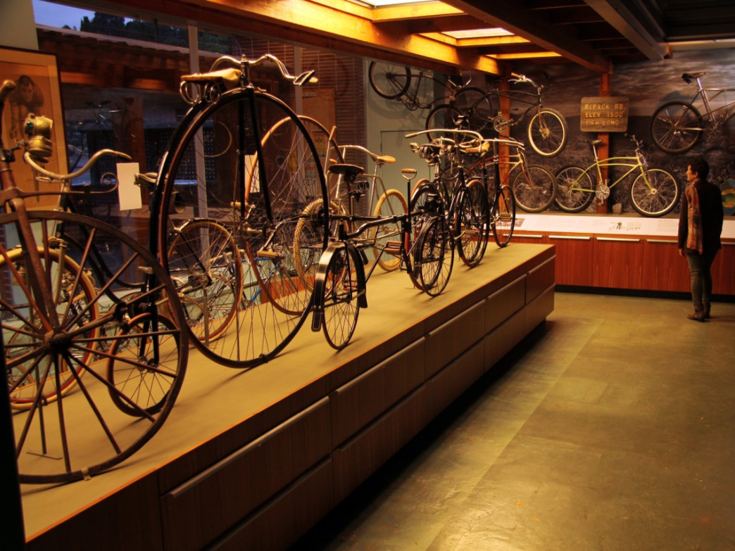 The Marin Museum of Bicycling and Mountain Bike Hall of Fame opens June 6 in Fairfax.