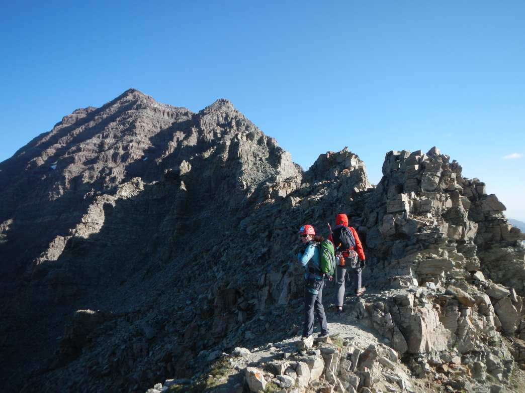 Work your way up to more difficult 14ers, like South Maroon Peak.