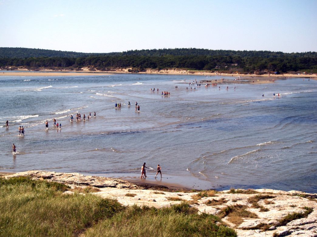 Popham Beach State Park is home to one of the longest sandy beaches in the state.