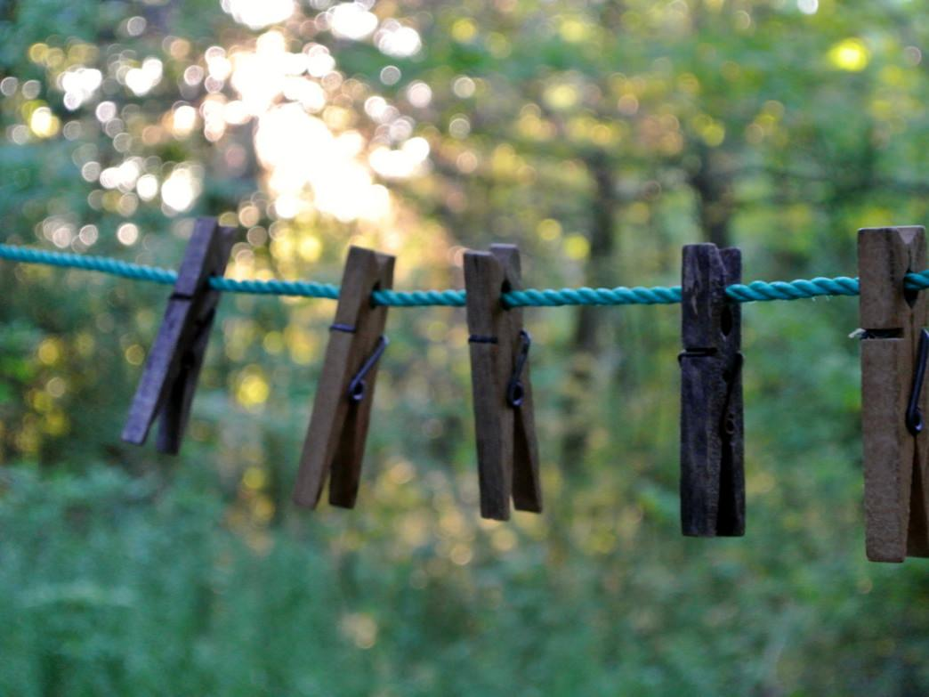 Although some view it as unnecessary, a clothes line is actually really nice to have in the Lowcountry
