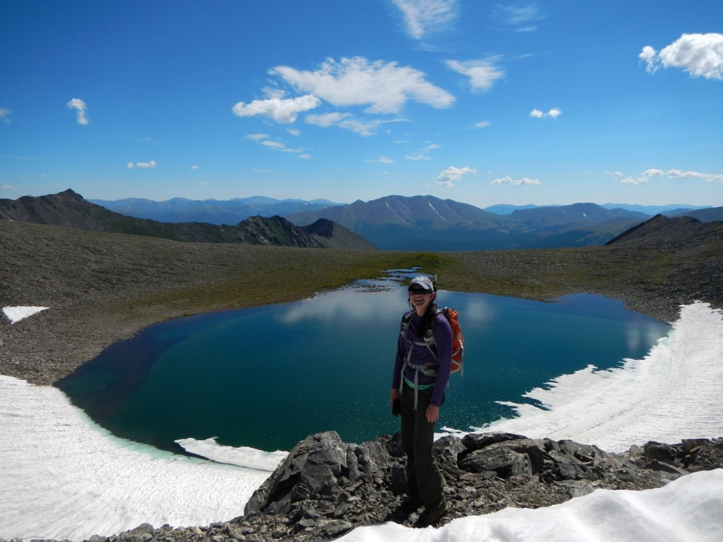 America's highest permanent lake, Pacific Tarn.