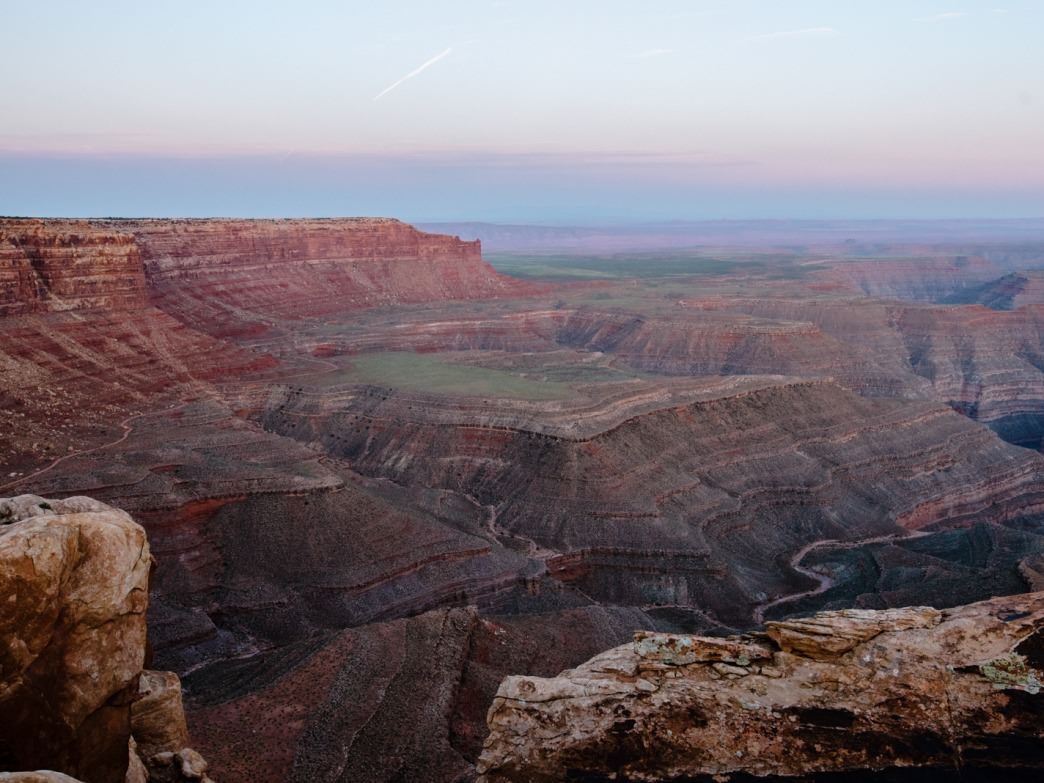 Sweeping vistas and endless canyon views.
