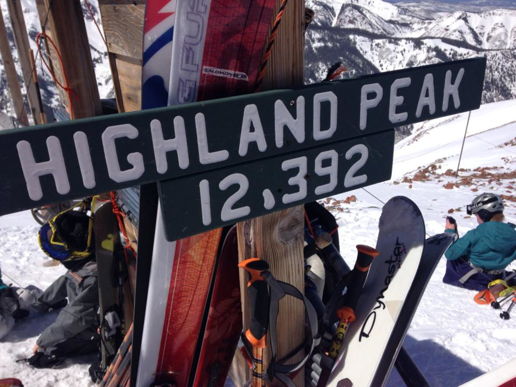 Even with free tours of Highland Bowl, you have to earn your turns by hiking to the top