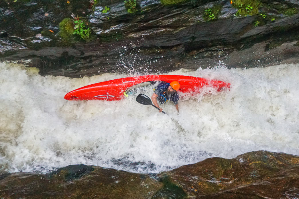 Whitewater on the Green River will challenge any paddler.      Angela Greenwell