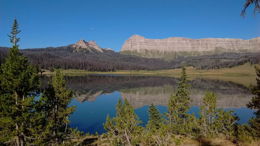 Brooks Lake is a beautiful spot to paddle, fish, or hike just outside of Dubois in the Shoshone National Forest.