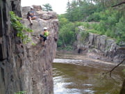 Vertical Endeavors Trip - Interstate Park (Taylors Falls)