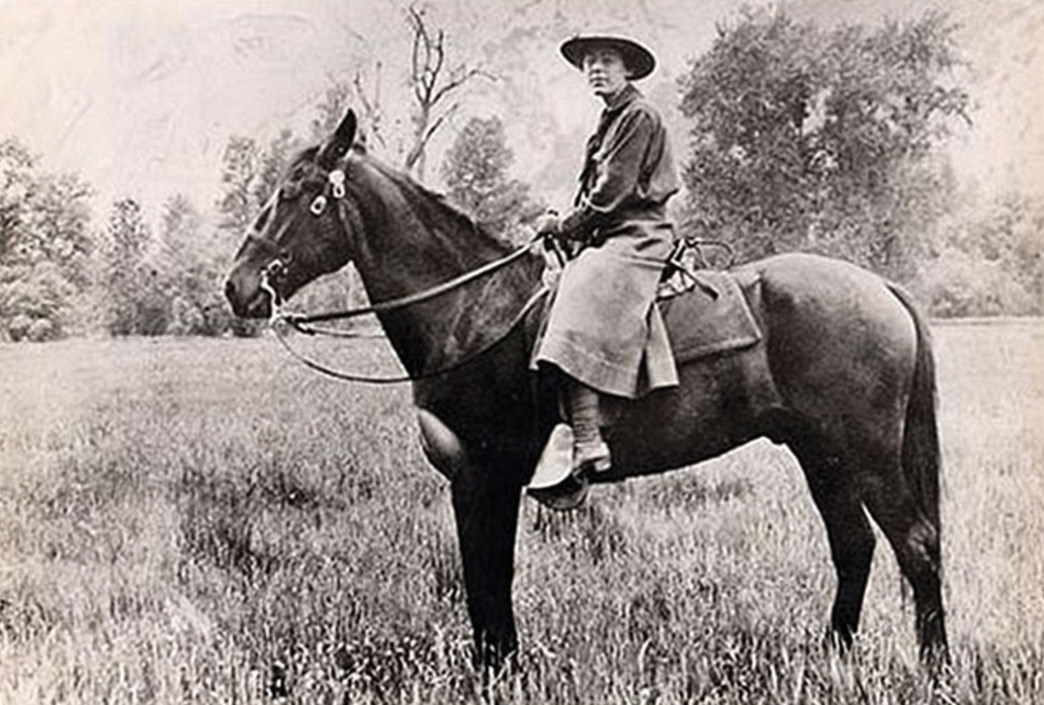 The first woman national park ranger