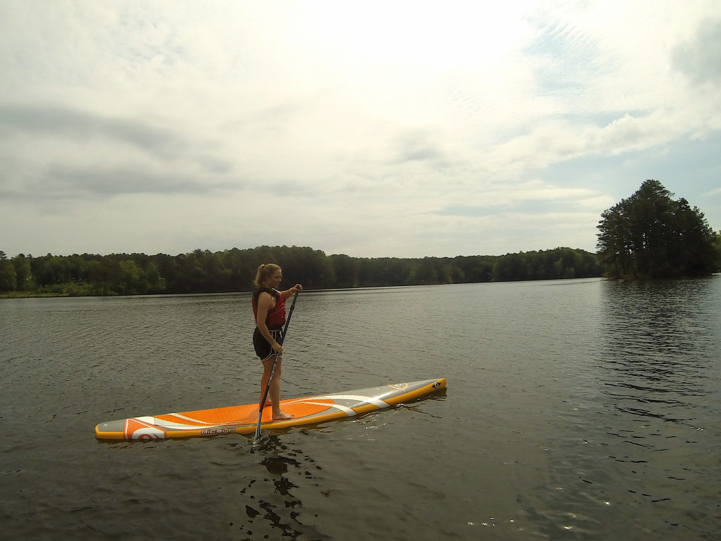Paddle at Stone Mountain