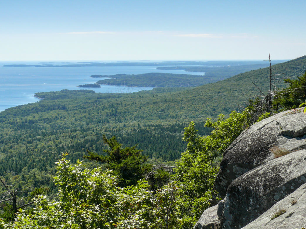 The views from Bald Rock Mountain Trail go on as far as the eye can see.