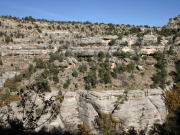Walnut Canyon Cliffs