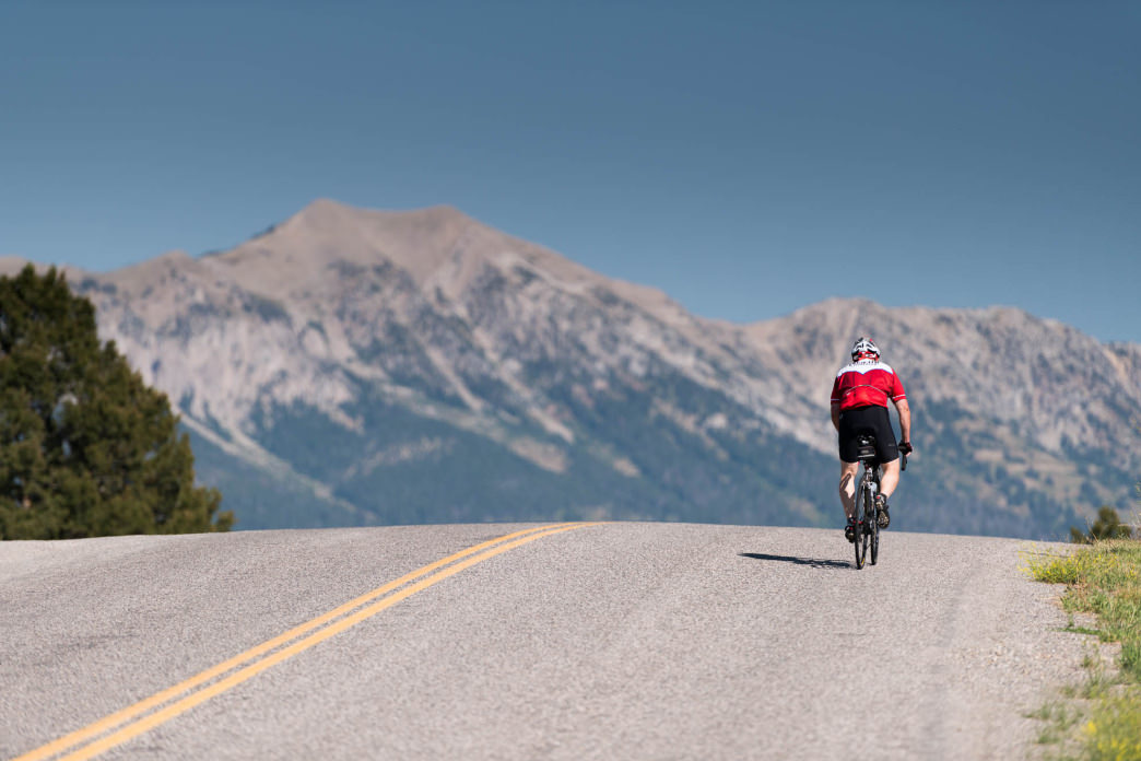 Being comfortable along the ride is of the utmost importance so make sure your bike has the right set up and a proper fit.     Rick Smith Media for Cycle Greater Yellowstone