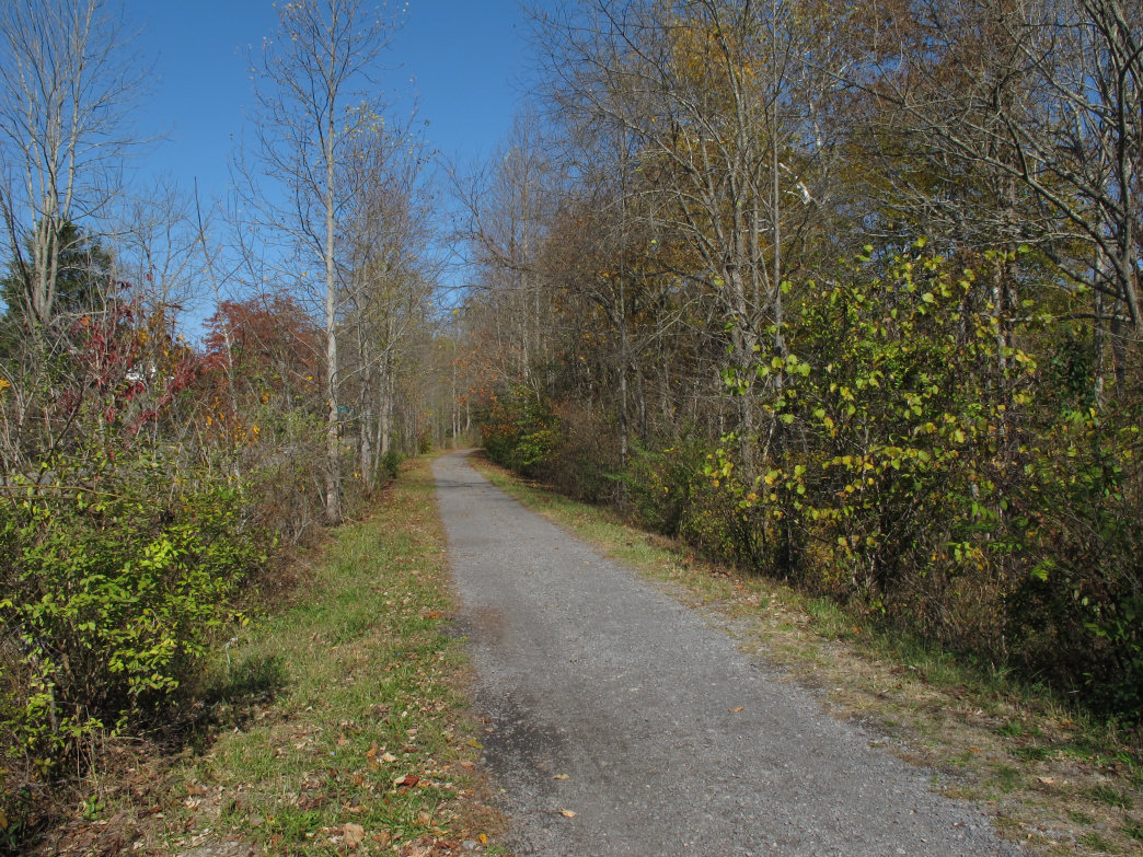 The Greenbrier River Trail, West Virginia.