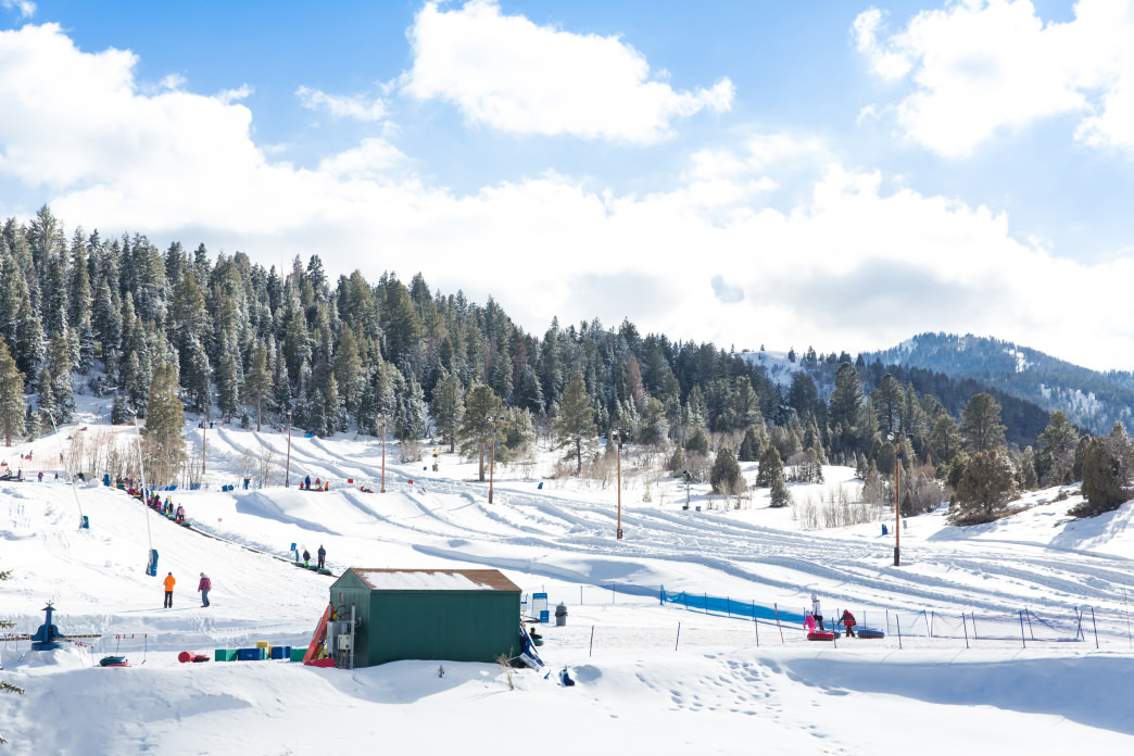 The tubing hill at Gorgoza Park.