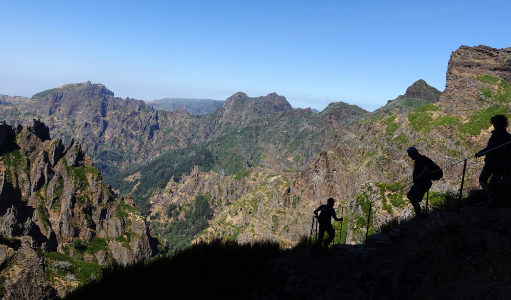 The rugged Madeira Island, surprisingly, has hiking for all experience levels.    The rugged Madeira Island, surprisingly, has hiking for all experience levels.