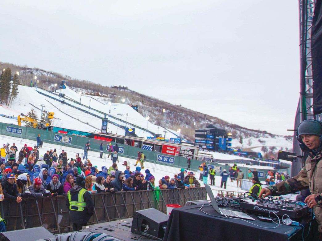 In 2015 X Games decided to build an additional music venue at the base of Butermilk, and featured four concerts. This year X Games has increased the music offerings to six artists.
