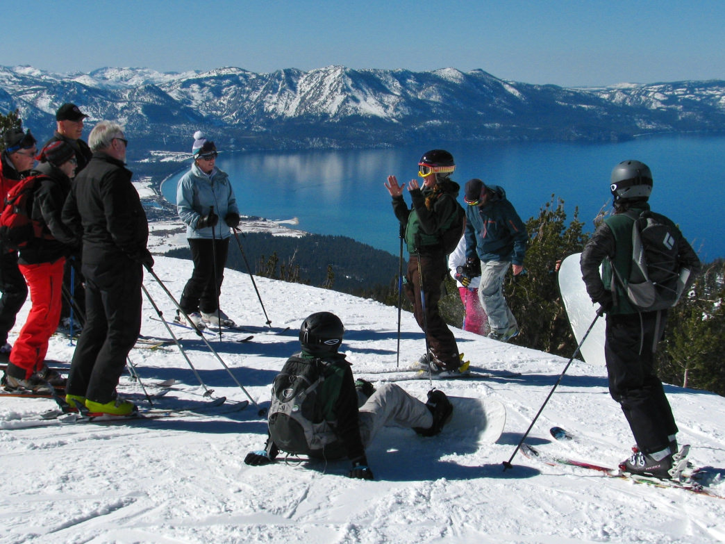 Make this the year that you finally learn to ski or snowboard.