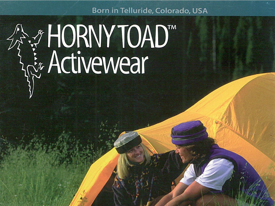 Winter Toques in action, courtesy of Horny Toad Activewear