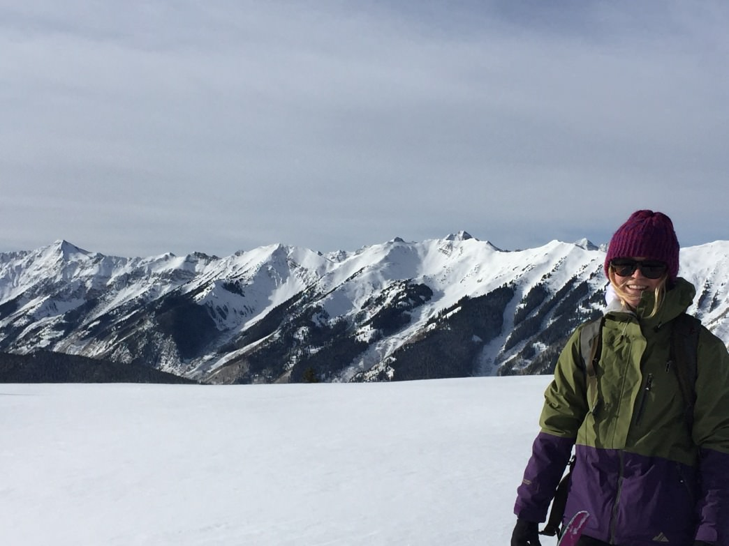 It was a natural progression to spend more time in the backcountry here, exploring Aspen on my splitboard.