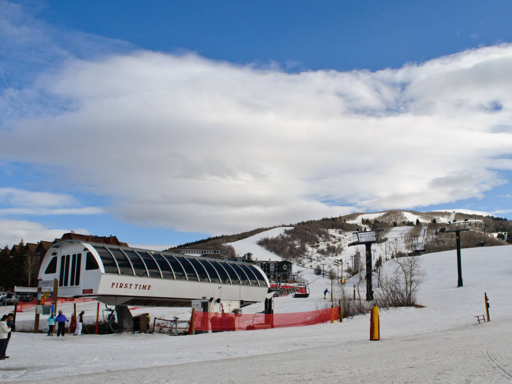 Park City Mountain Resort may look serene from afar, but its Three Kings terrain park can get the heart rate up.