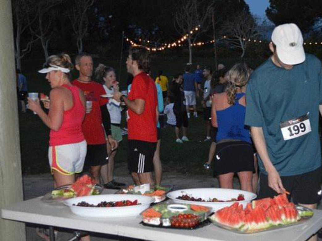 Endorphins, good beer, and friends, Courtesy of Elings Park 5K