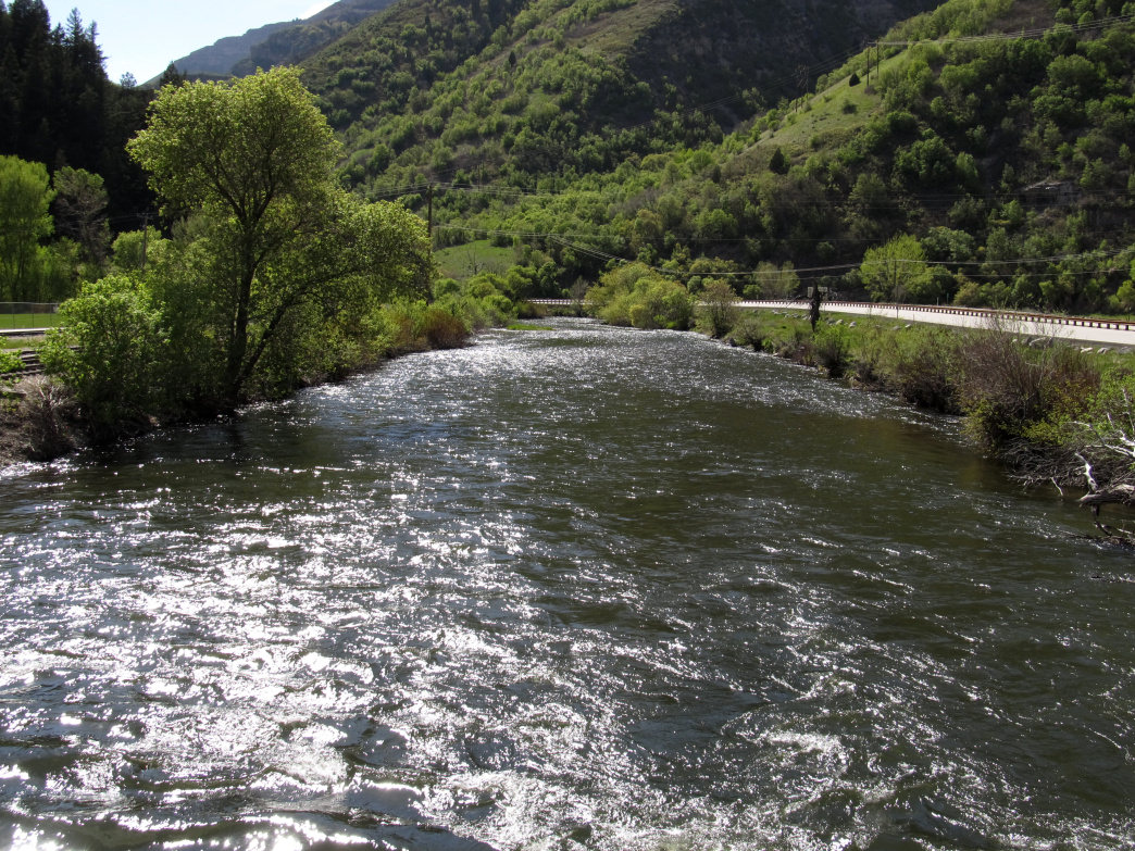Twelve miles of the mighty Provo River run through the heart of Heber Valley.