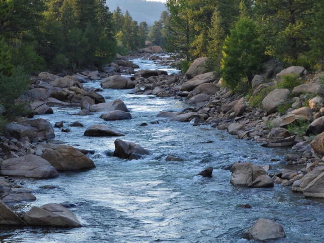 The Arkansas River is an angler's paradise