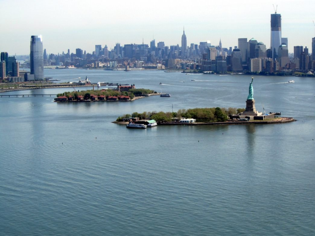 Even the Statue of Liberty has room for a run