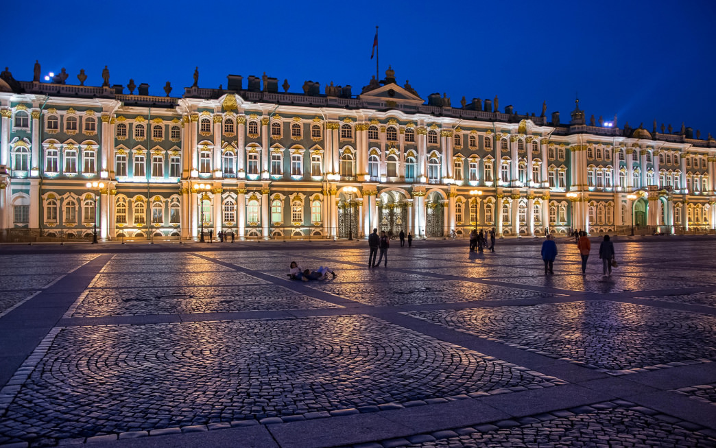 The State Hermitage Museum and Winter Palace hosts pieces in palaces built over five centuries.