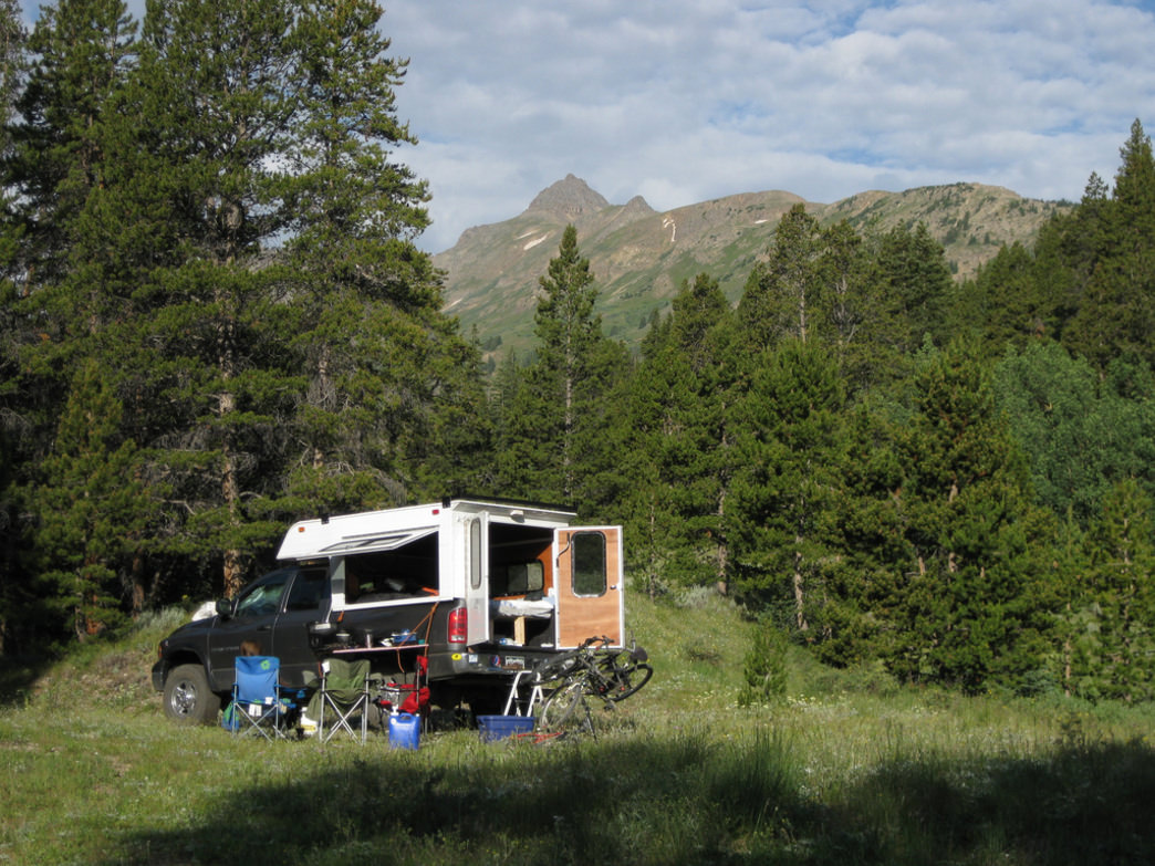 Camping near Independence Pass offers fantastic mountain views.
