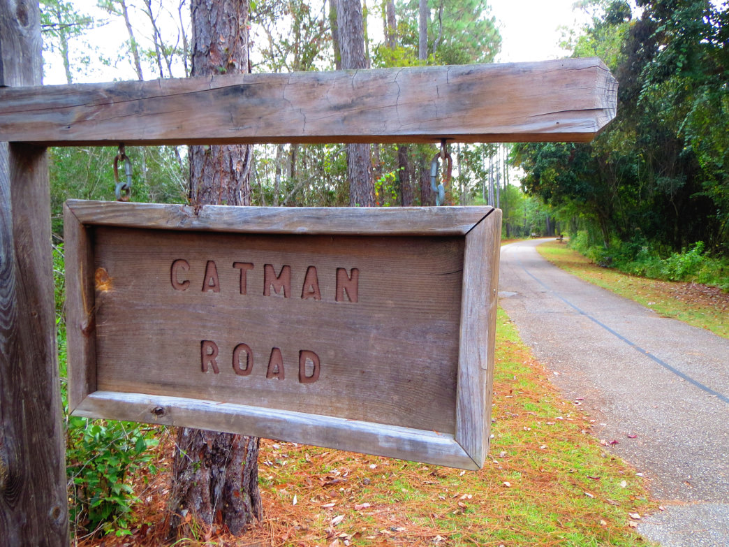 The Catman Road trail, which dates back to early hunting paths.